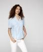 Capri Short Sleeved Striped Shirt