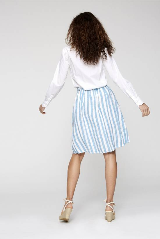 Capri Striped Skirt