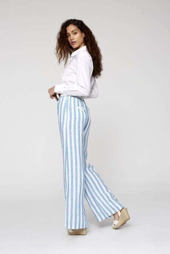 Capri Striped Trousers