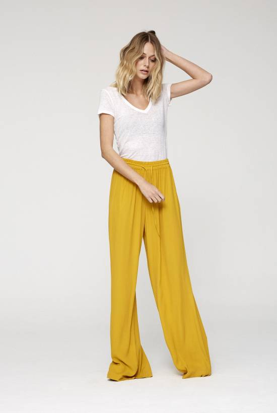 Crepe Viscose Trousers