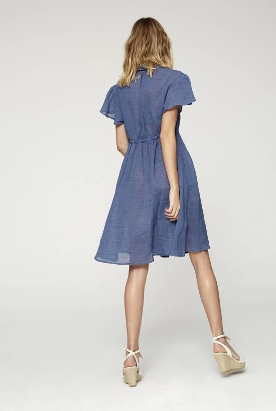 Polinesia Short Sleeved Dress