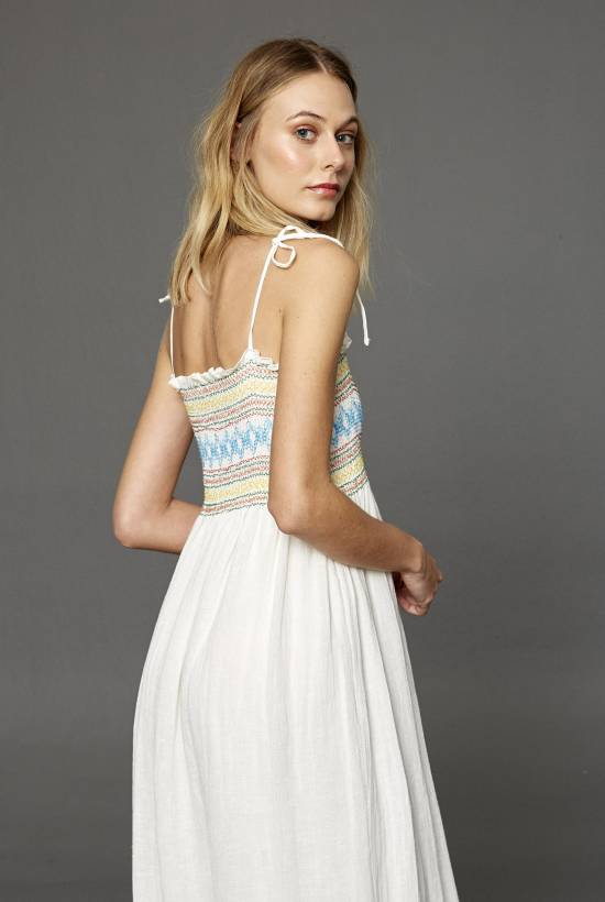 Polinesia Long Strapped Dress