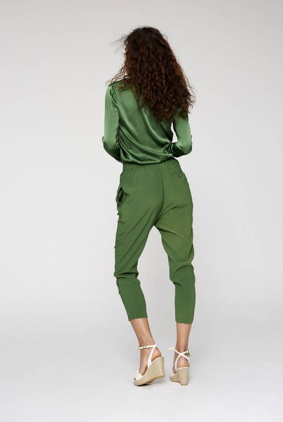 Pantalón Skinny Seda