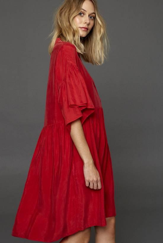 Cupro Dress