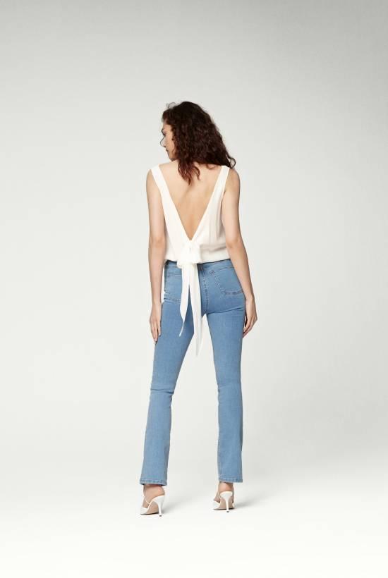 Silk Sleeveless Top