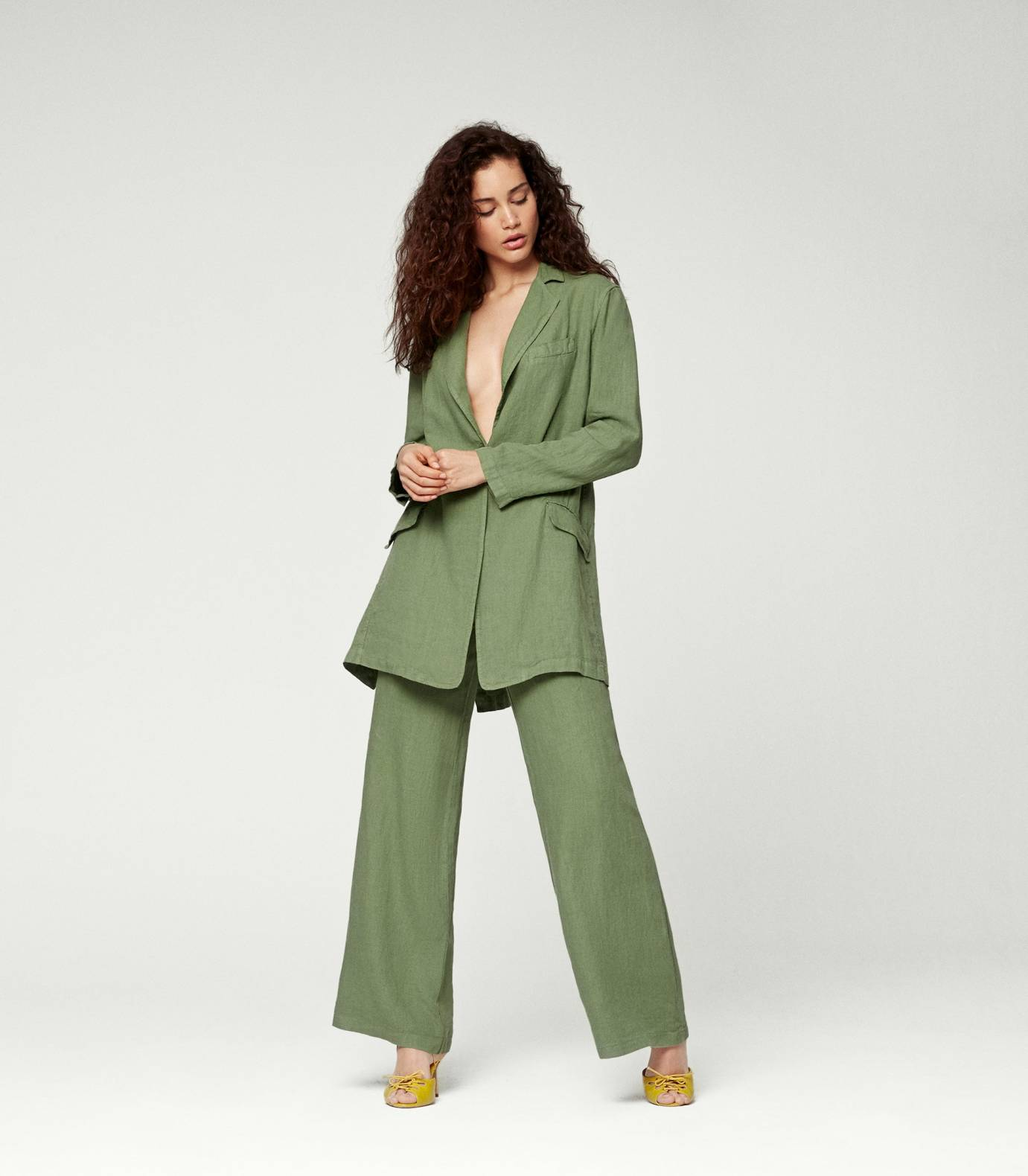 Linen Suit Trousers