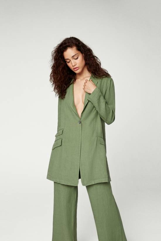 Linen Suit Trousers