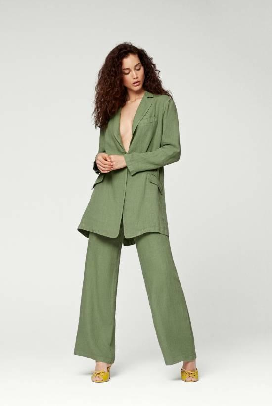 Linen Suit Frock Coat